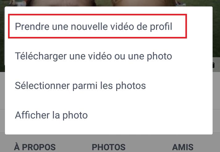 Comment créer une vidéo de profil Facebook